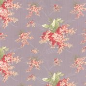 Moda Whitewashed Cottage by 3 Sisters - 3741 - Heather Floral Spray - 44063 13 - Cotton Fabric